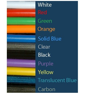 Braided Hose Carbon